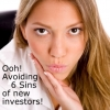 How do I avoid the 6 Sins of new investors