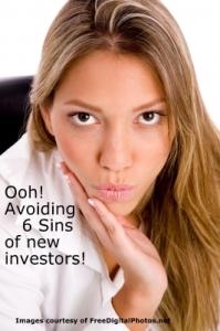 6 Sins of new investors