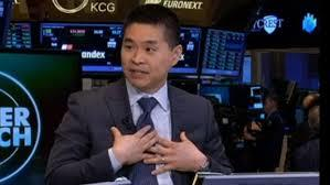 Brad Katsuyama at NYSE explaining the effects of high frequency trading.